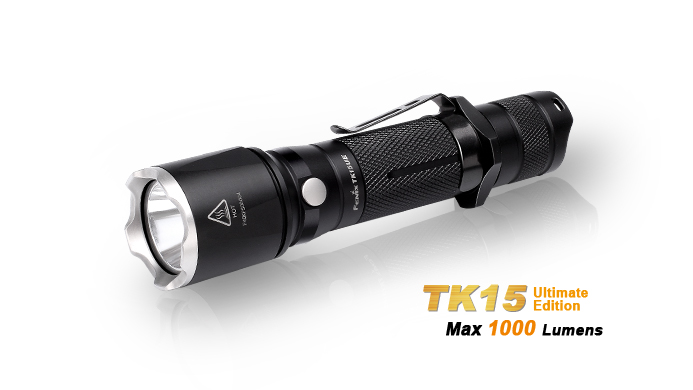 TK15 Flashlight Max 1000 Lumens